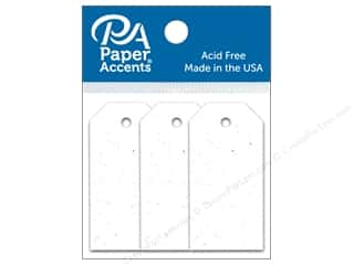 scrapbooking & paper crafts: Paper Accents Craft Tags 7/8 x 1 3/4 in. 25 pc. Birch