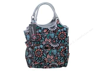 sewing & quilting: Everything Mary Deluxe Yarn Tote Black, Grey & Multi