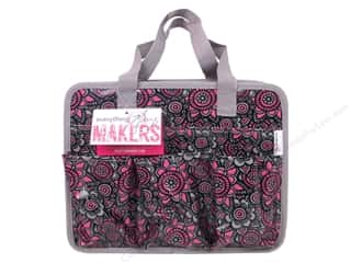 Everything Mary Makers Carry All Tote Grey & Pink Flower