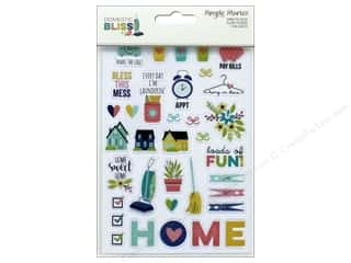 Simple Stories: Simple Stories Collection Domestic Bliss Sticker Clear