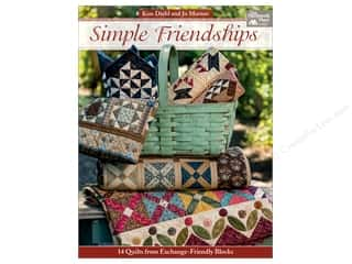 Simple Friendships: 14 Quilts from Exchange-Friendly Blocks Book by Kim Diehl and Jo Morton
