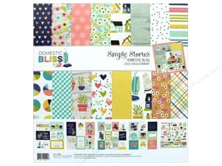 "Simple Stories: Simple Stories Collection Domestic Bliss Collection Kit 12""x 12"""