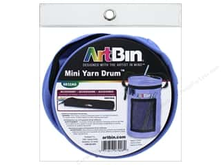 Clearance: ArtBin Yarn Drum Mini Periwinkle