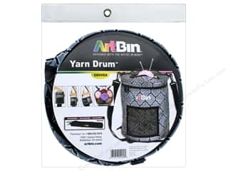yarn: ArtBin Yarn Drum Black Grey