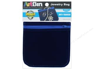 "Clearance: ArtBin Anti-Tarnish Jewelry Bag 6""x 6"""
