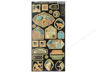 Graphic 45 Collection Vintage Hollywood Deco Chipboard