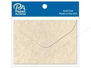 scrapbooking & paper crafts: Paper Accents 1 3/4 x 2 3/8 in. Envelopes 15 pc. Aged Parchment