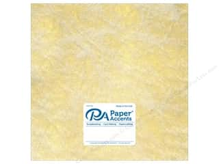 scrapbooking & paper crafts: Paper Accent Cardstock 12 x 12 in. #8850 Spun Silk Gold (25 sheets)