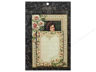 die cuts: Graphic 45 Collection Portrait Of A Lady Ephemera Cards