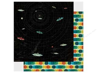 "Carta Bella Collection Space Academy Paper 12""x 12"" Radical Radar (25 pieces)"