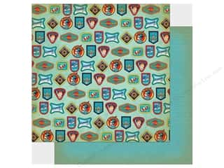 """Carta Bella Collection Space Academy Paper 12""""x 12"""" Space Badges Picture"""