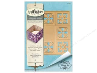 die cutting machine: Spellbinders Die Shapeabilites Marisa Job Tea Light Box