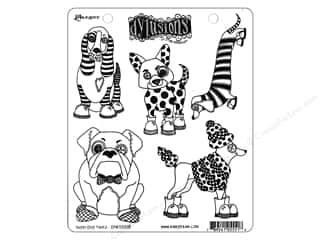 stamps: Ranger Stamp Dylusions Puppy Dog Tales