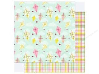 """Photo Play Collection Bloom Paper 12""""x 12"""" Fly A Kite (25 pieces)"""