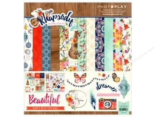 """patterned paper kit: Photo Play Collection Rhapsody Collection Pack 12""""x 12 """""""