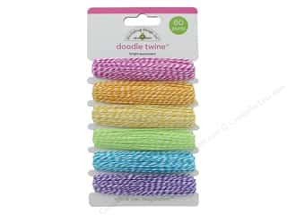 Twine: Doodlebug Doodle Twine Brights Assortment 6 pc.