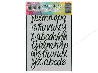scrapbooking & paper crafts: Ranger Stencil Dylusions Small Modern Script
