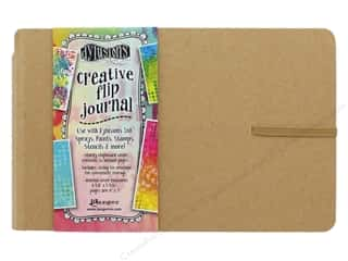 scrapbooking & paper crafts: Ranger Dylusions Creative Flip Journal - Small