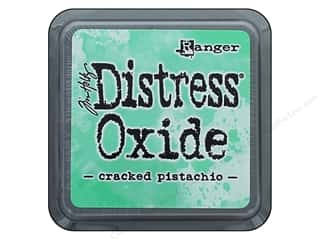 stamps: Ranger Tim Holtz Distress Oxide Ink Pad Cracked Pistachio