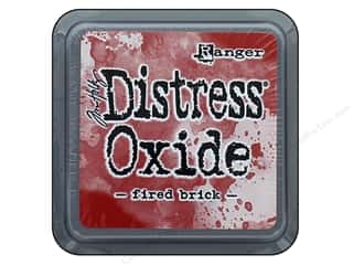 stamps: Ranger Tim Holtz Distress Oxide Ink Pad Fired Brick
