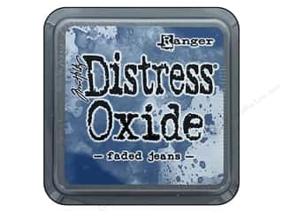 stamps: Ranger Tim Holtz Distress Ink Pad Oxide Faded Jeans