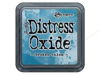 stamps: Ranger Tim Holtz Distress Oxide Ink Pad Broken China
