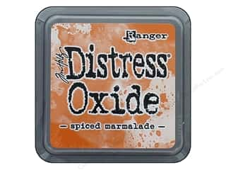 stamps: Ranger Tim Holtz Distress Oxide Ink Pad Spiced Marmalade