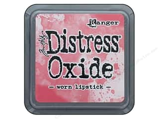 stamps: Ranger Tim Holtz Distress Oxide Ink Pad Worn Lipstick