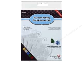 SCRAPBOOK ADHESIVES BY 3L 3D Foam Holiday Embellishment Kit