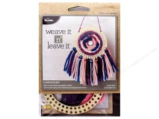 yarn & needlework: Bucilla Kits Weave It n Leave It Mini Circle