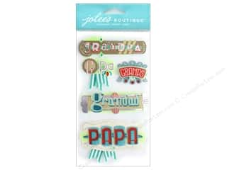 stickers: EK Jolee's Boutique Large Grandpa Words