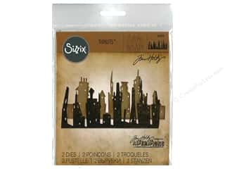 window die: Sizzix Dies Tim Holtz Thinlits Cityscape Skyline