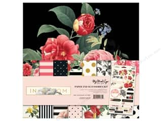 bloom: My Mind's Eye Collection In Bloom Paper & Accessory Kit