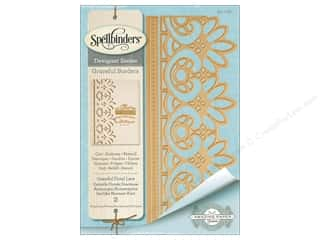 Spellbinders Die Card Creator Graceful Floral Lace