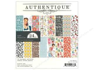 "Authentique Collection Saucy Bundle Pad 6""x 6"""