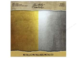 Tim Holtz Metallic Mixative: Tim Holtz Idea-ology Kraft Stock Metallic