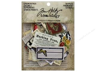 scrapbooking & paper crafts: Tim Holtz Idea-ology Ephemera Pack