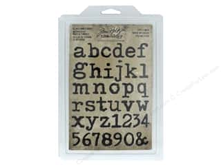 scrapbooking & paper crafts: Tim Holtz Idea-ology Stamp Cling Foam Type Lower