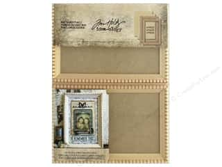 Wood Photo Frame: Tim Holtz Idea-ology Mini Framed Panels