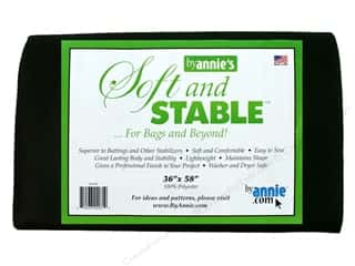 By Annie Soft And Stable Stabilizer 36 x 58 in. Black