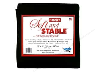 By Annie Soft And Stable Stabilizer 72 x 58 in. Black
