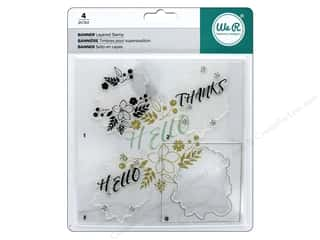 stamps: We R Memory Keepers Layered Stamp Banner