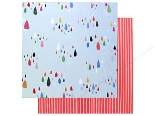 "AMC Collection On A Whim Amy Tangerine Paper 12""x 12"" Sprinkle (25 pieces)"