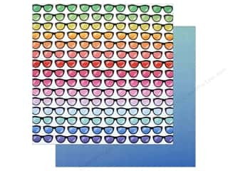 """ombre: AMC Collection On A Whim Amy Tangerine Paper 12""""x 12"""" Shady Bunch (25 pieces)"""