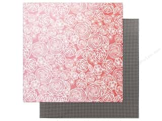 American Crafts Amy Tangerine 12 x 12 in. Paper On A Whim Think Pink (25 pieces)