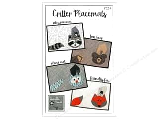 Vanilla House Patterns Critter Placemats Pattern