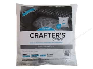 "craft & hobbies: Fairfield Pillow Form Crafters Choice 16"" Square"