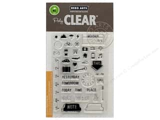 stamp cleared: Hero Arts Poly Clear Stamp My Week