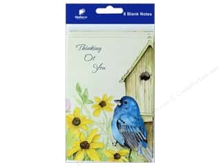 novelties: Gallant Greetings Thinking Of You Card Bird 8 ct