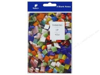 gifts & giftwrap: Gallant Greetings Thinking Of You Card Squares 8 ct